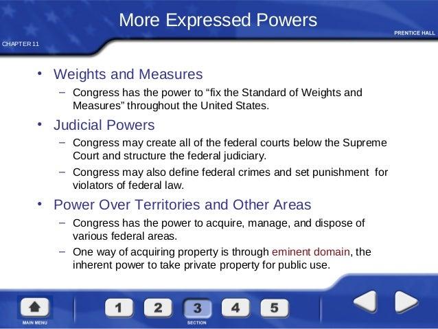 Define Crimes And Set Punishments