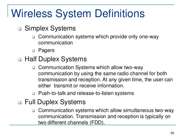 Chap 1&2(history and intro) wireless communication