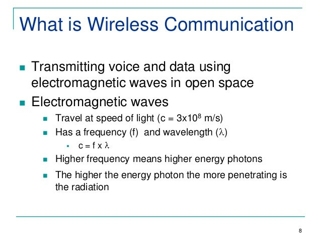 an introduction to the history of wireless communication Wireless history timeline  for a brief history of the wireless industry,  which promotes the introduction of advanced cellular technologies by the industry.