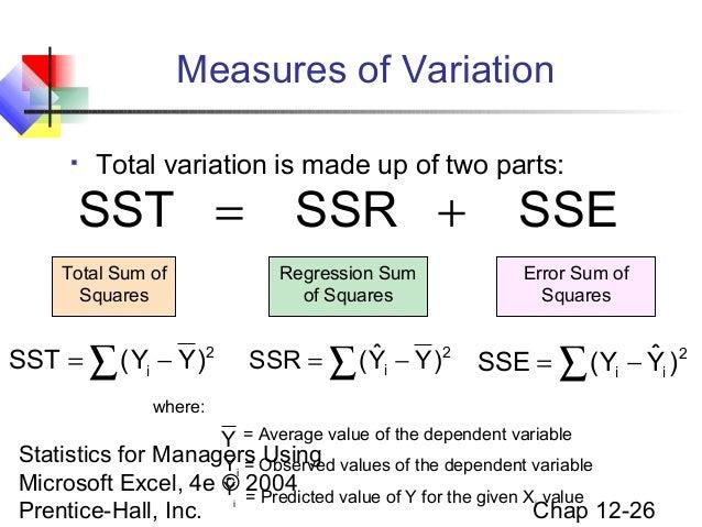 Chap12 Simple Regression