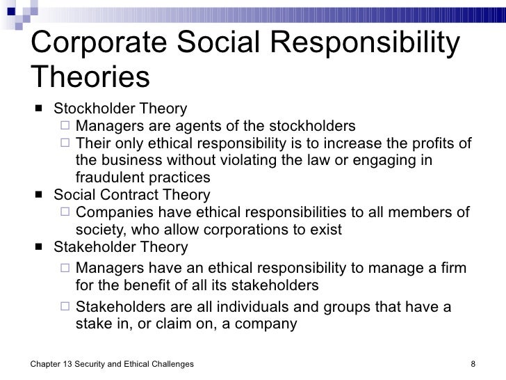 What Ethical Responsibilities Does an Organization Have to a Different Stakeholder?