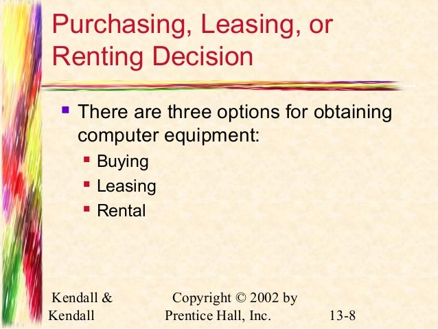 purchase equipment vs leasing There are advantages and disadvantages associated with each choice of buying or leasing construction equipment for your business to be successful.