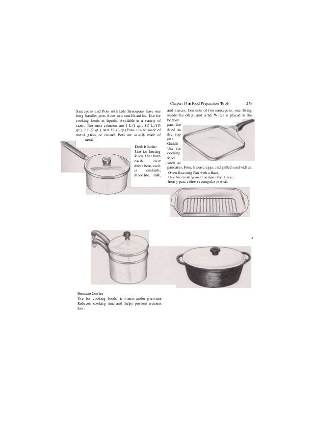 Chap14 Food Np Preparation Tools