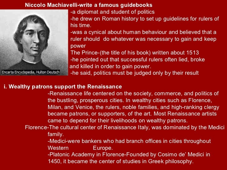 niccol machiavelli guidebook of successful political The department of political science  machiavelli and the principles behind authoritarian rule could he explain the fate of muammar  84 the importance of niccol machiavelli as of today ééééééééééééé 27 9  written with sarcasm and irony and some people claim that it was written as a guide to power plays.