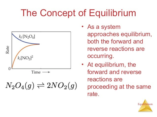 chemical equilibrium 1 a reversible reaction is the type of reaction where a certain chemical process is able to proceed in a forward or reverse direction depending on experimental conditions.