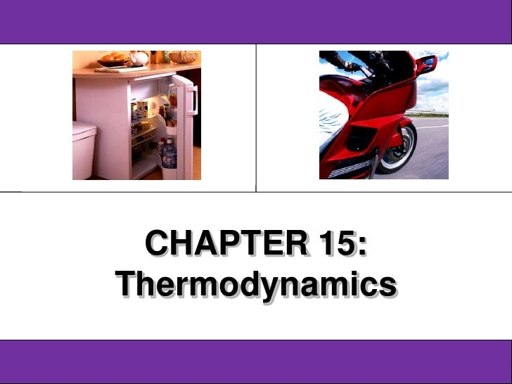 Physics SF 016                Chapter 15                                      16              CHAPTER 15:             Ther...