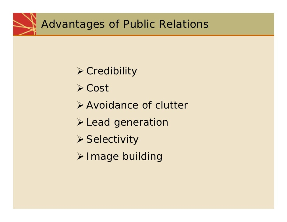 characteristics and tools of public relations marketing essay Role of the marketing communication mix marketing essay  personal selling, direct marketing and public relations  role and characteristics of primary tools of.