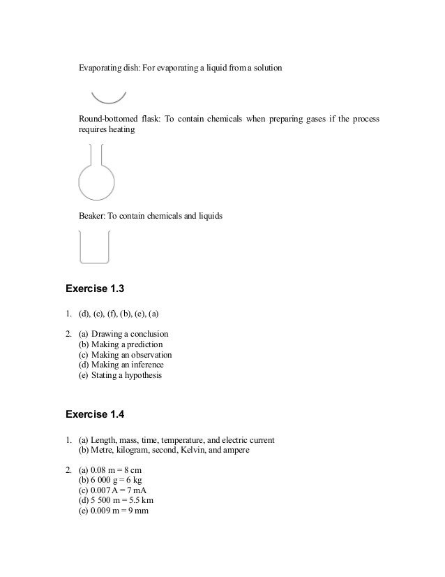 Science Form 2 Chapter 3 Exercise With Answers Exercisewalls
