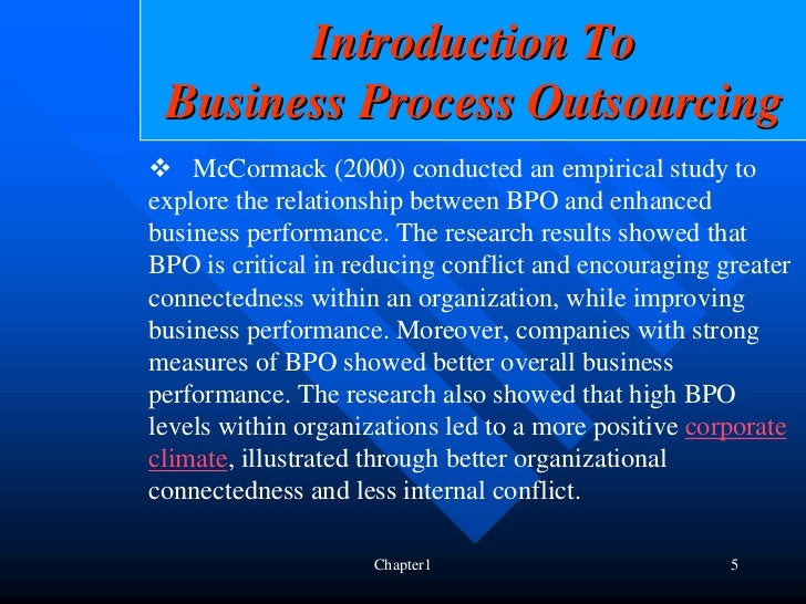an introduction to the analysis of outsourcing Index terms—cost-benefit, hr outsourcing, need, strategic i introduction  outsourcing has been defined as work done for a company by people other.