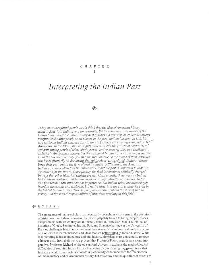 CHAPTER                                               I             Interpreting the Indian Past                          ...