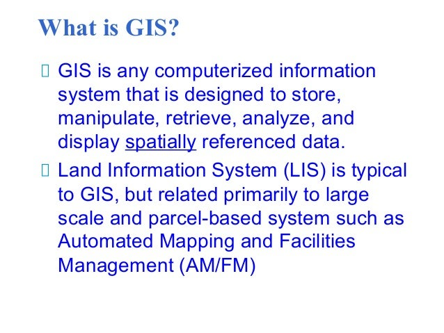 an introduction to the geographical information system gis An introduction to geographical information systems september 1999 beginning with the discussion of what is gis, this article explains the concept of geographical data and spatial data models.