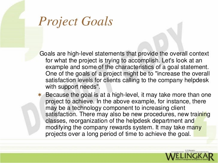 project objective statement examples free resume templates