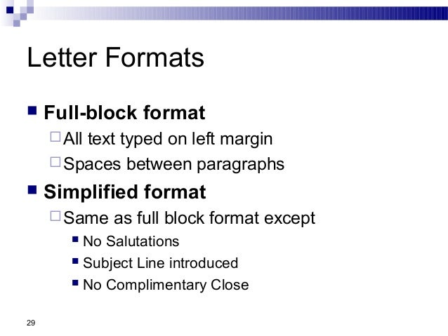 Formats of letter jcmanagement formats of letter altavistaventures Choice Image