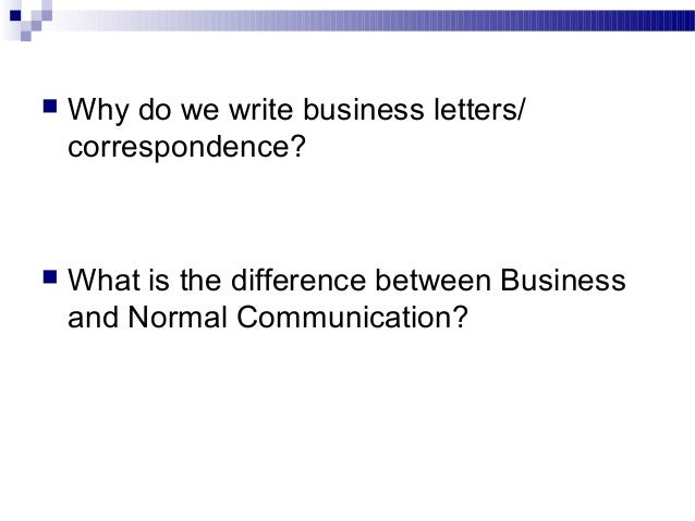 Business Communication Chap 2 Business Writing