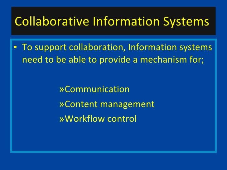 Teamwork and collaboration 1