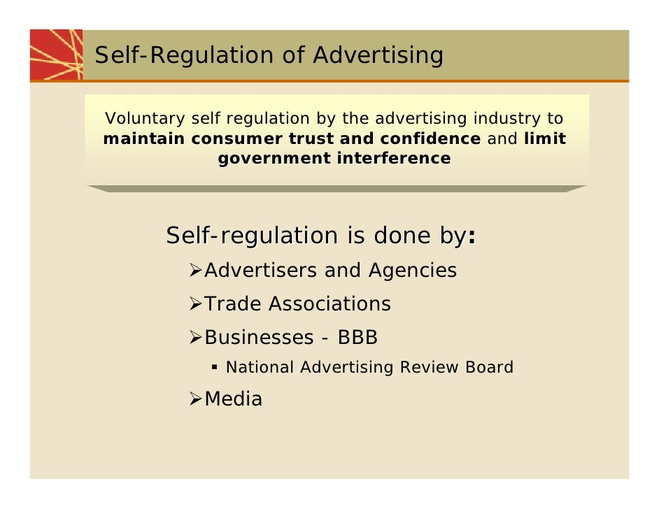 how promotion is regulated