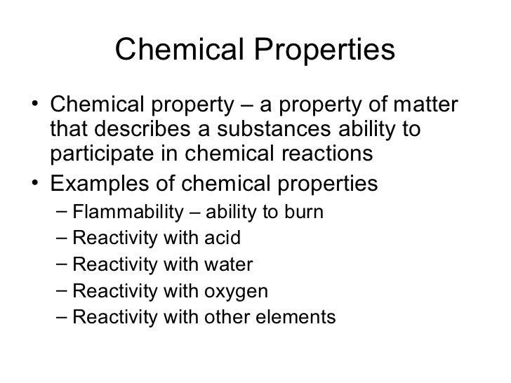 Chap 2 Chem Phy Properties