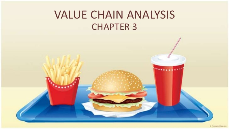 VALUE CHAIN ANALYSIS      CHAPTER 3