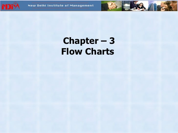 Chapter – 3 Flow Charts