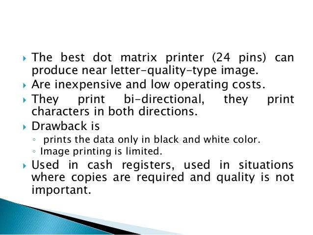 10 The Best Dot Matrix Printer 24 Pins