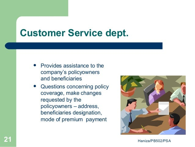 customer service policies guidelines and requirement