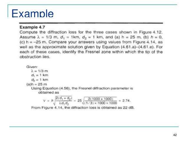 knife edge diffraction model pdf