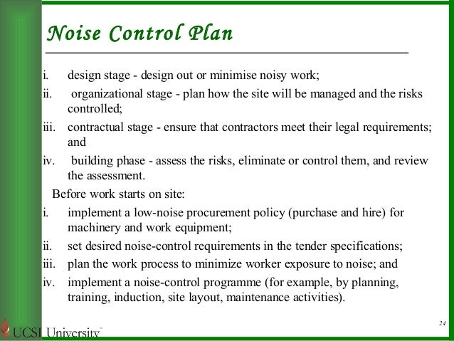 controlling noise pollution The 1990 clean air act amendments added a new title iv, relating to acid deposition control, without repealing the existing title iv, relating to noise pollution the.