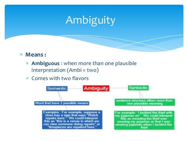 strategic ambiguity examples