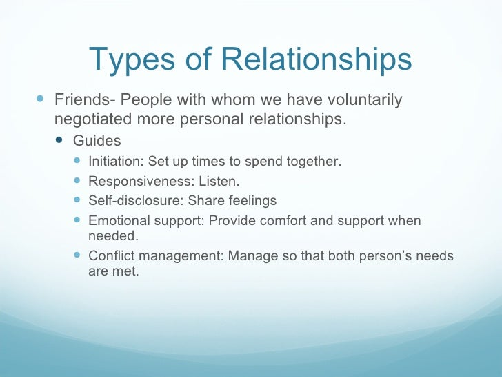 interpersonal relationship styles and patterns