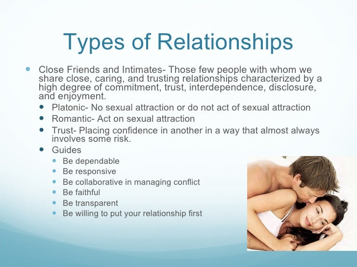 Chap7: Understanding Interpersonal Relationships