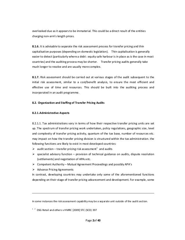 Transfer pricing agreement template 28 images agency for Transfer pricing agreement template