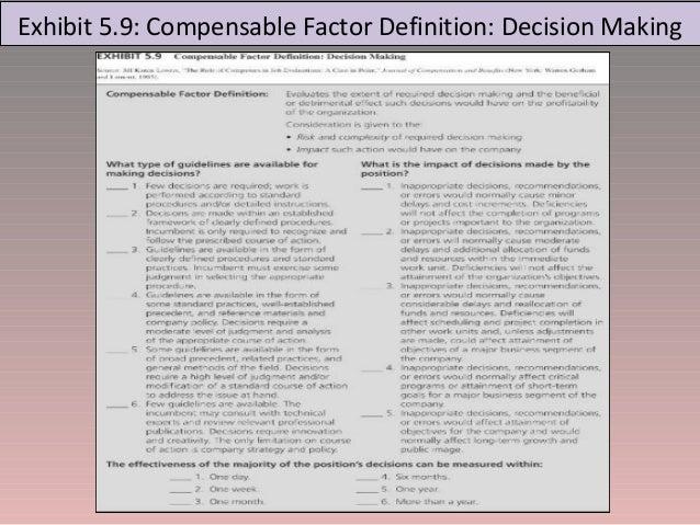 JOB EVALUATION – Job Evaluation Form
