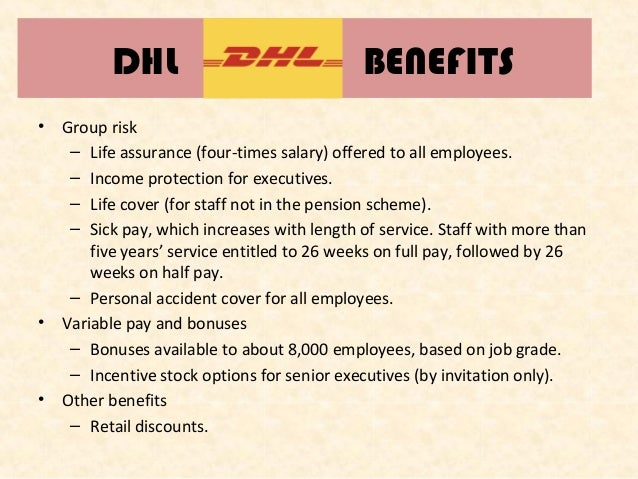 dhl employee policies and procedures