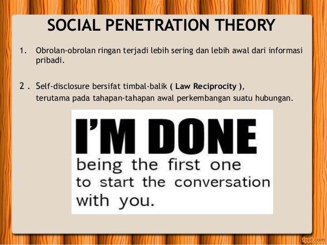 Dalmas taylor social penetration theory