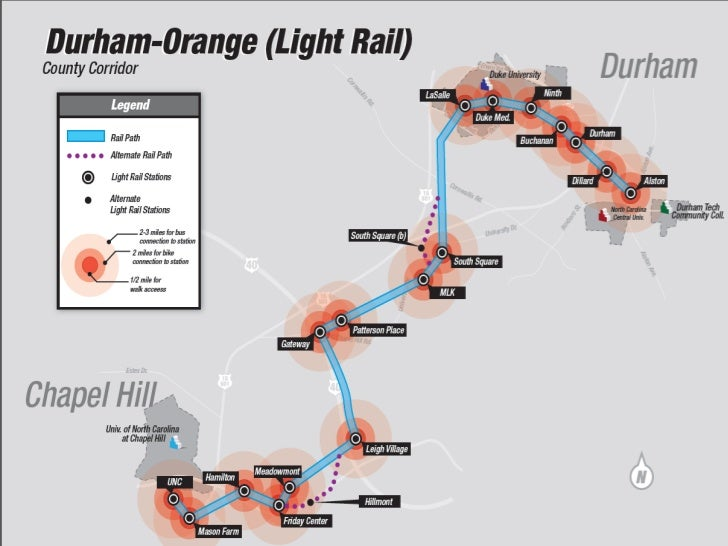 Presentation to EDPP by Triangle Transit on
