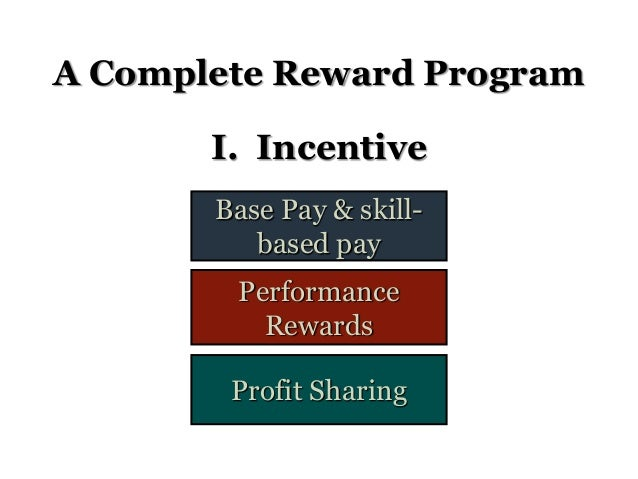 Appraising and rewarding performance