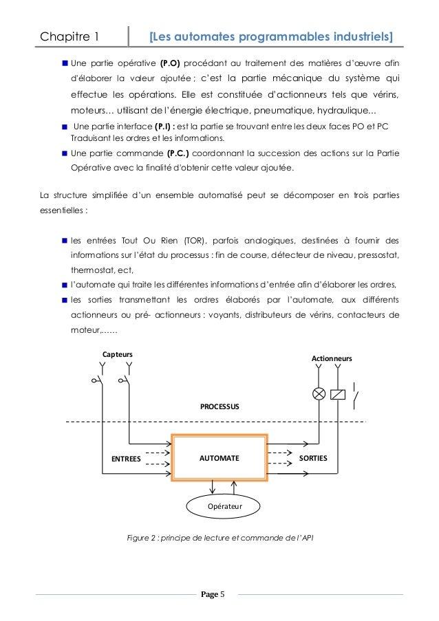 les automates programmables industriels pdf