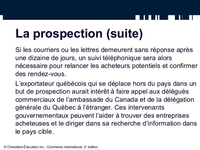Favori La prospection et l'adaptation du produit UD42
