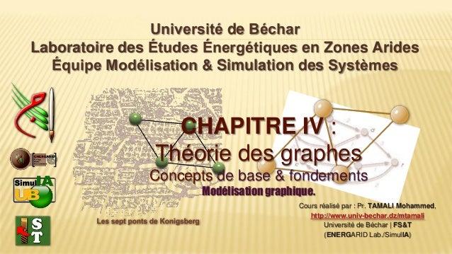 Université de Béchar Laboratoire des Études Énergétiques en Zones Arides Équipe Modélisation & Simulation des Systèmes Cou...