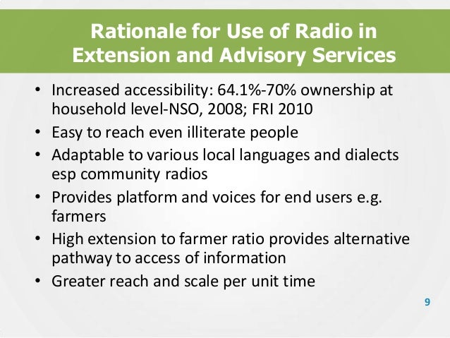 roles and functions of radio in Producers in music radio work in a range of stations and programmes catering for  all  the seniority and specific responsibilities of a radio producer may vary.