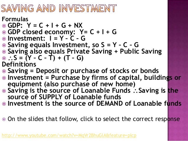 savings formula