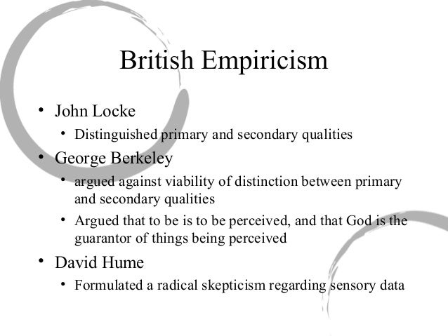 humes skeptical empiricism and lockes empiricism essay An essay on western masochism  this turn involved seeing science as a socially based enterprise that does not rely on empiricism and reason alone  humes.