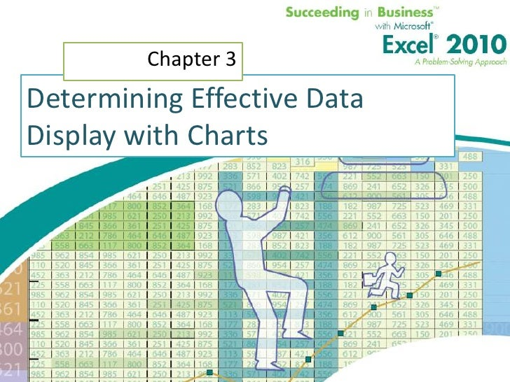 """Determining Effective Data Display with Charts<br />Chapter 3<br />""""Information is a source of learning. But unless it is ..."""