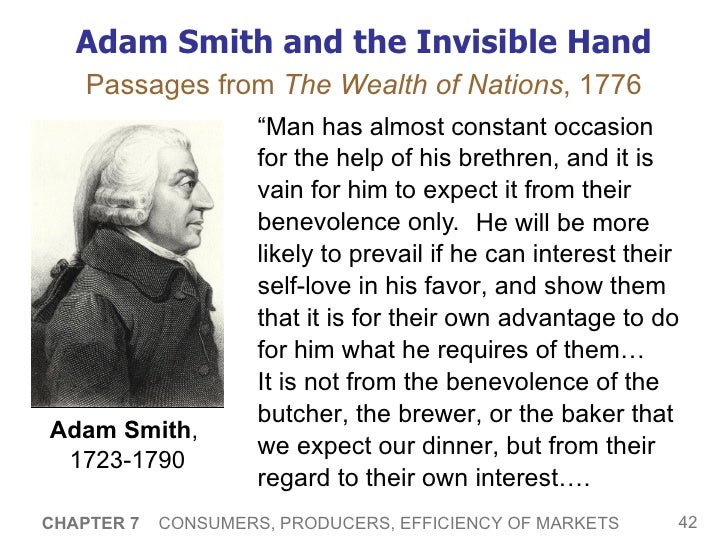 "adam smith invisible hand Adam smith, the father of modern economics, is often cited as arguing for the "" invisible hand"" and free markets but unlike his followers, adam."