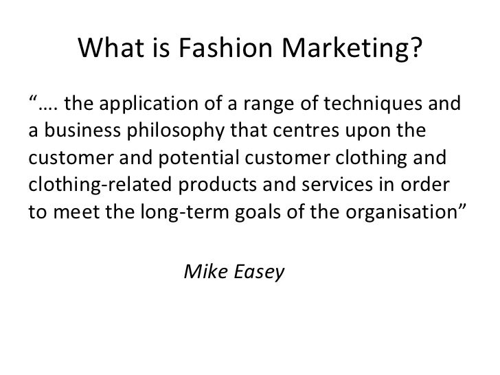 Intro to fashion marketing 76
