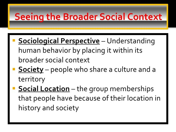 notes on understanding sociology Culture consists of the beliefs, behaviors, objects, and other characteristics common to the members of a particular group or society through culture, people and groups define themselves, conform to society's shared values, and contribute to society.