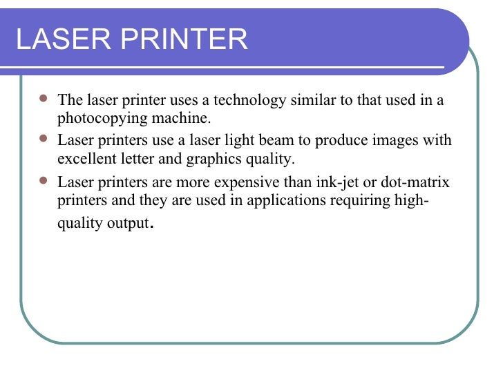 Chapter 11: Printers and Scanners
