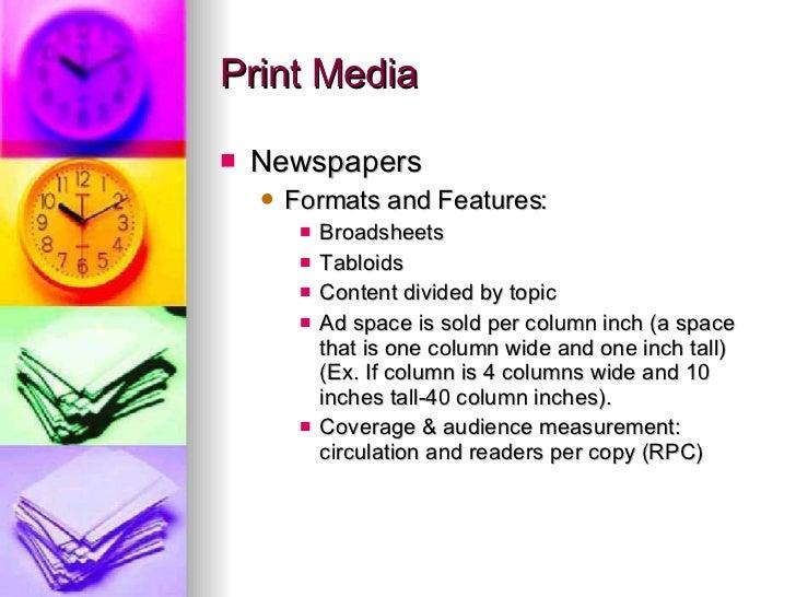 Advantages & Disadvantages of Print Media
