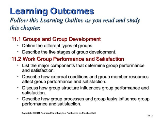 workgroup performance and satisfaction The effects of value congruence, individual demographic dissimilarity and conflict on workgroup outcomes karen a jehn  the effects of value congruence, individual demographic dissimilarity  predict effects on three group outcomes: objective performance, perceptions of performance, and members' satisfaction with their groups objective.
