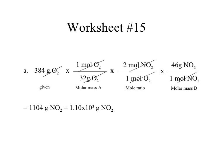 All Worksheets » Stoichiometry Worksheets - Childern And Parenting
